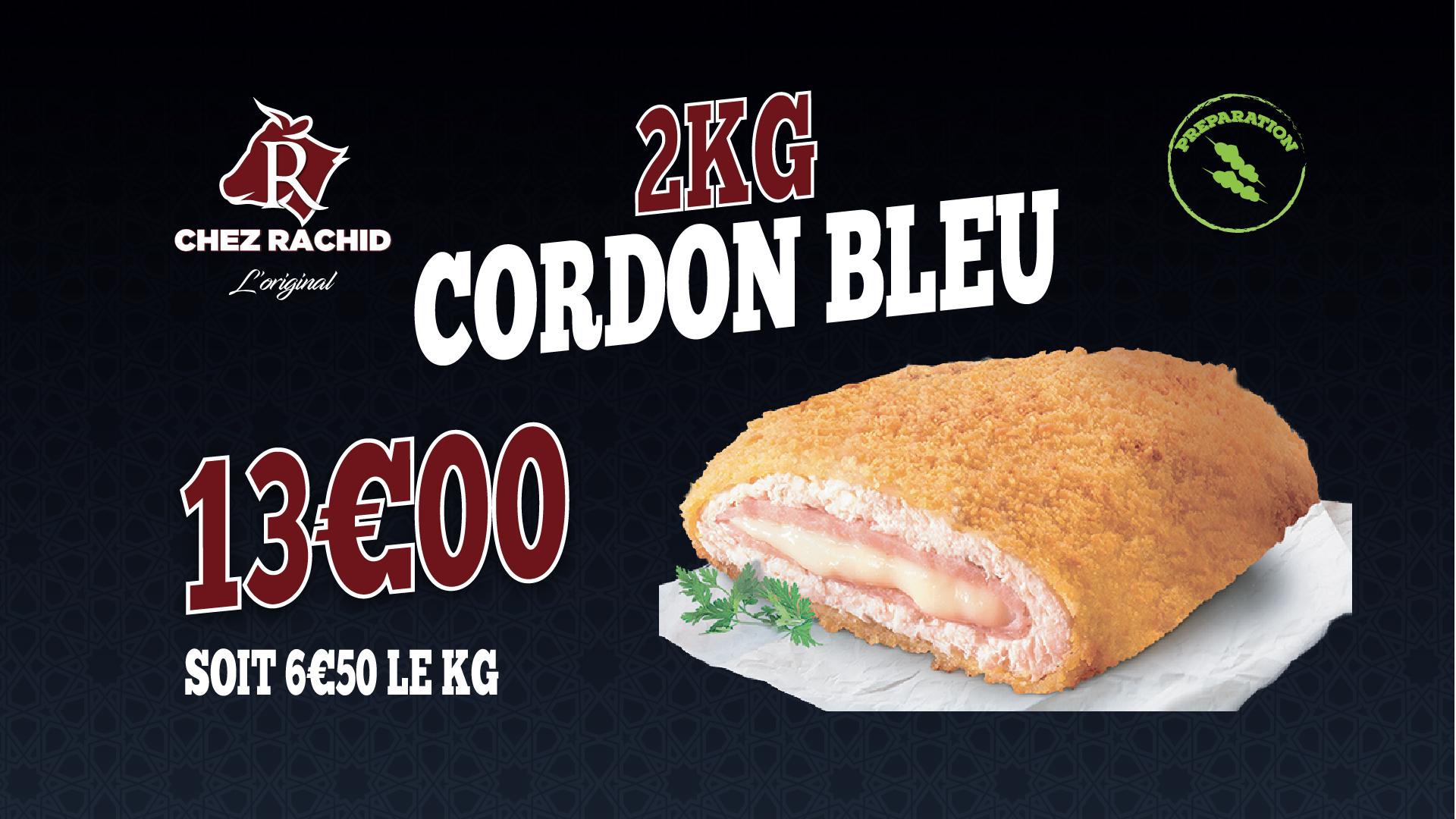 2KG Cordon bleu