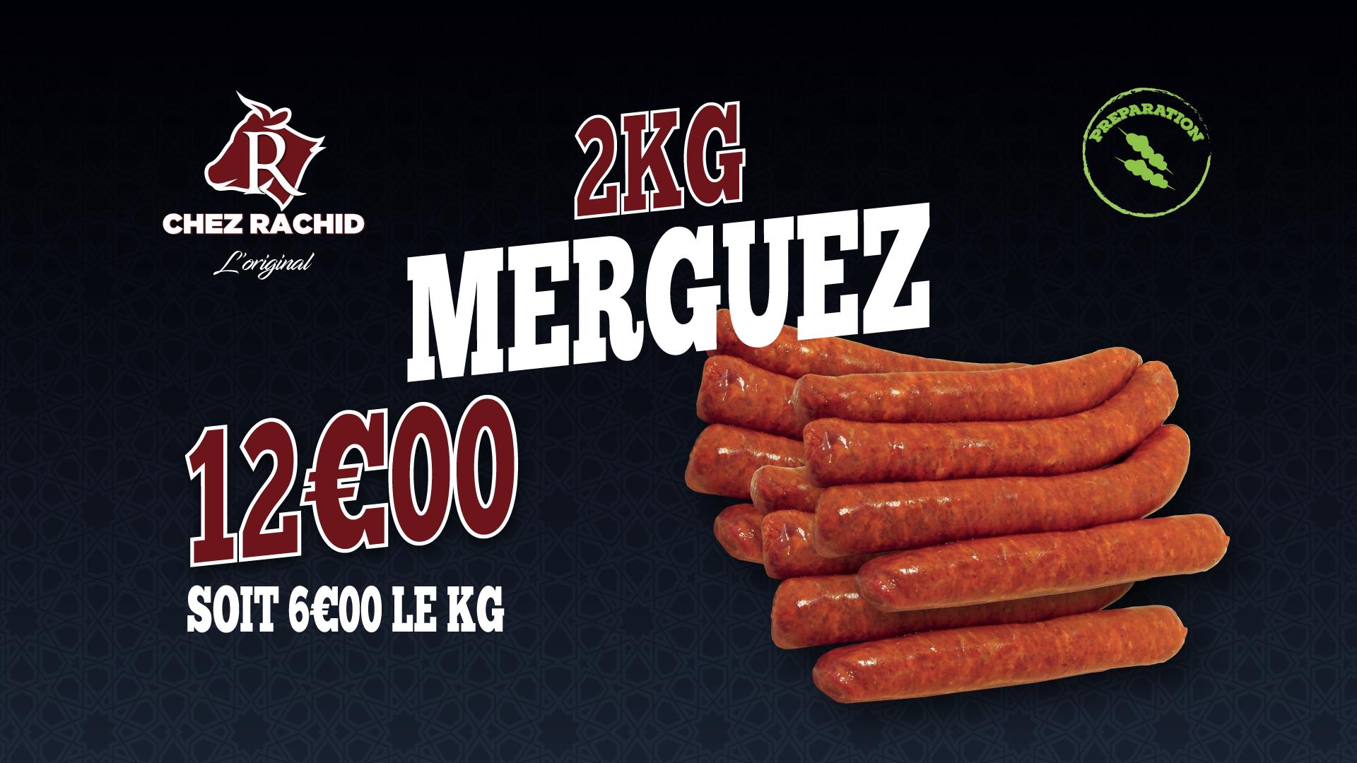 2 KG de Merguez